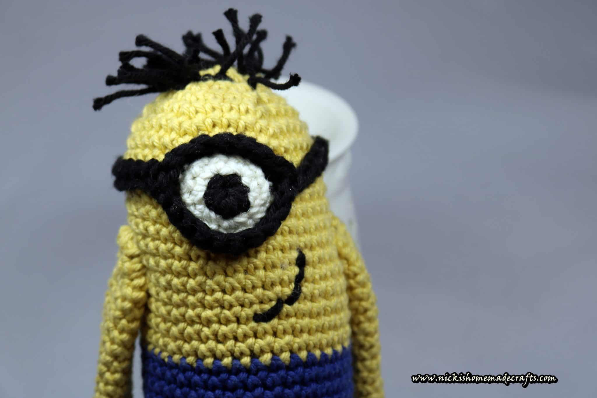 Baby archives nickis homemade crafts free minion amigurumi crochet pattern bankloansurffo Images