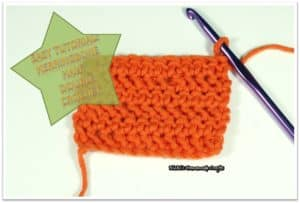 Tutorial: How to do the Herringbone Half Double Crochet (Hbhdc)