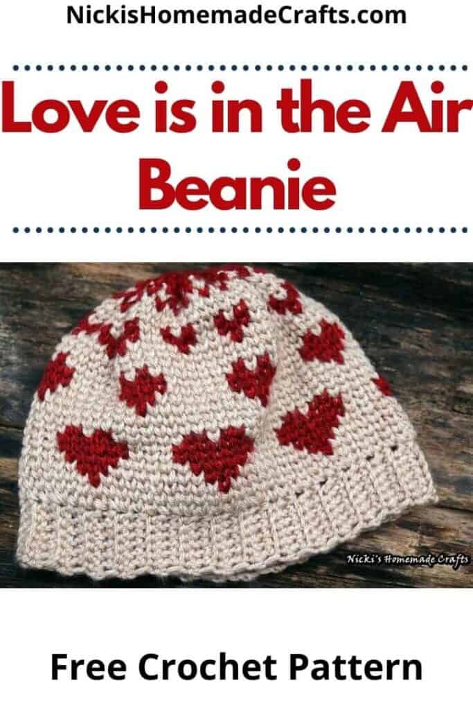 Crochet Love is in the Air Beanie Pattern