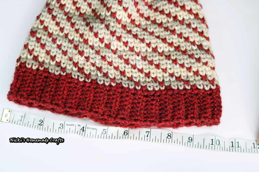 Swirly Heart Hat - Free Crochet Pattern by Nicki's Homemade Crafts