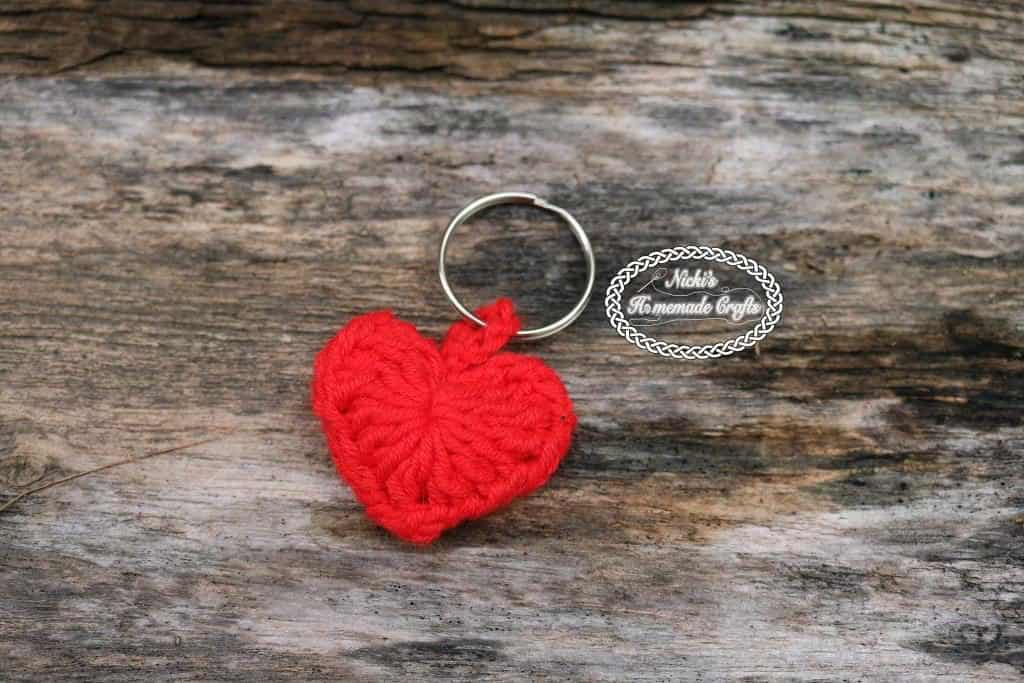 Small Heart Keychain
