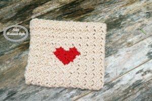 Heart Envelope Pattern – Free Crochet Pattern