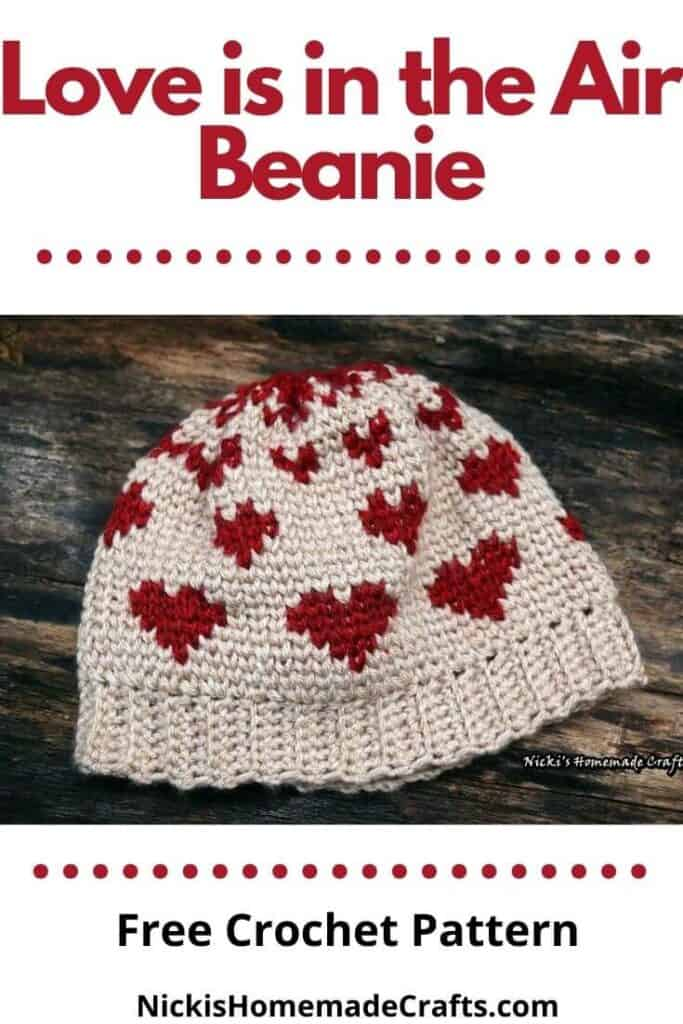 Love is in the Air Beanie Pattern