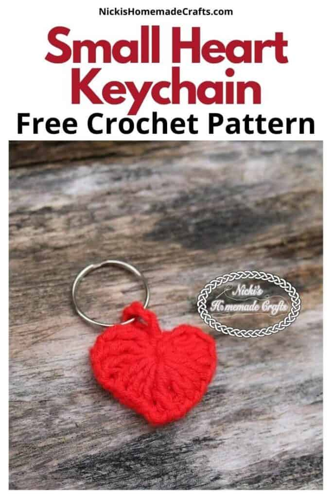 Small Heart Keychain Pattern
