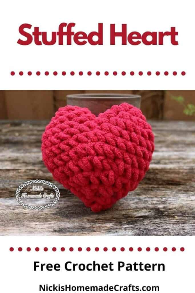 Stuffed Heart - Free Crochet Pattern