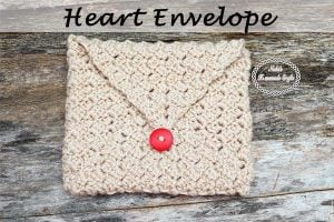 Heart Envelope Pattern – Free Crochet Pattern