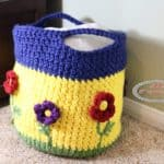 Flower Basket Pattern