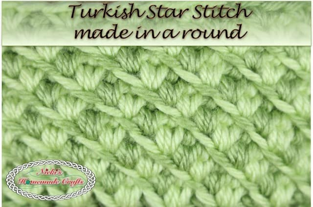 Tutorial Turkish Star Stitch Trending Crochet Stitch Nickis