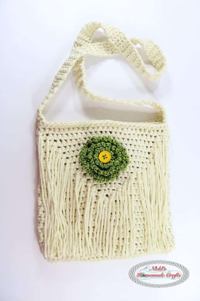crochet flower bag pattern