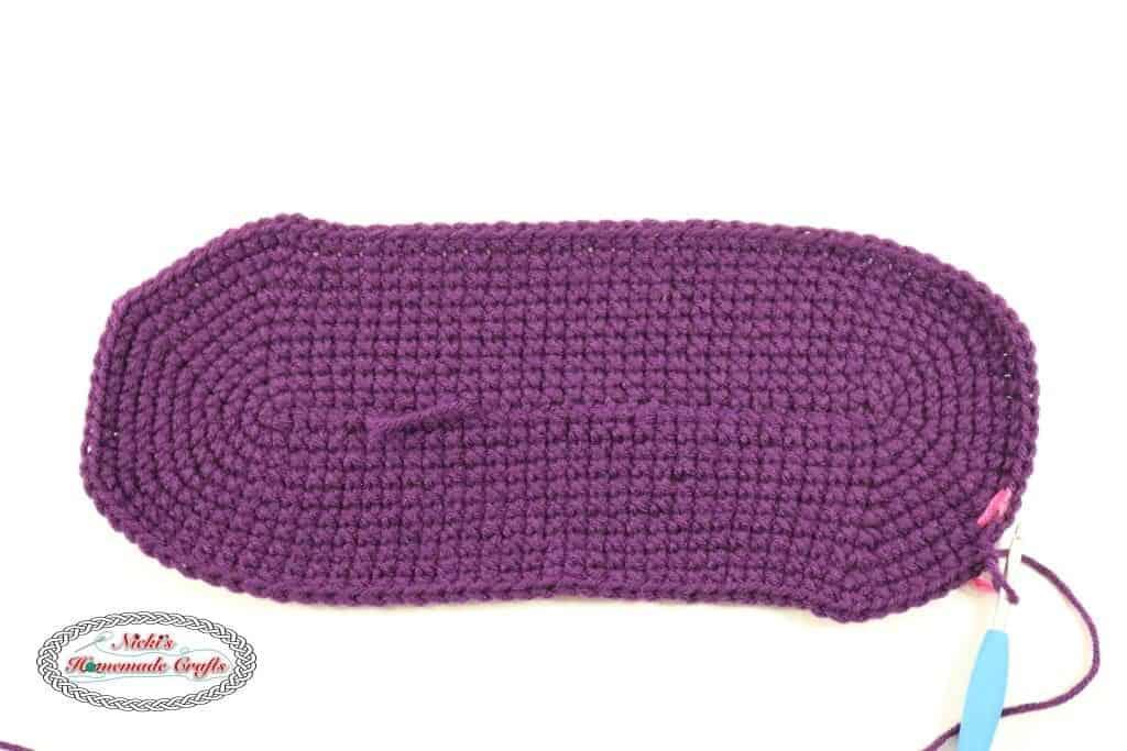 Bottom of the Multipurpose Crochet Bag