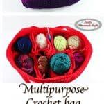 Crochet Multipurpose Bag