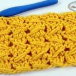 Samurai Relief Crochet Stitch