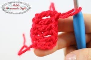 Foundation Treble Crochet