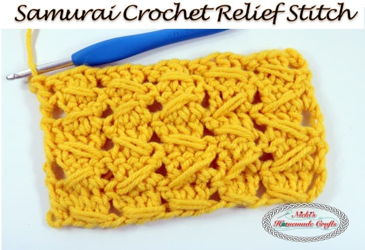 complicated crochet stitches