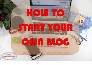 How to start your own blog – EASY, FAST and CHEAP