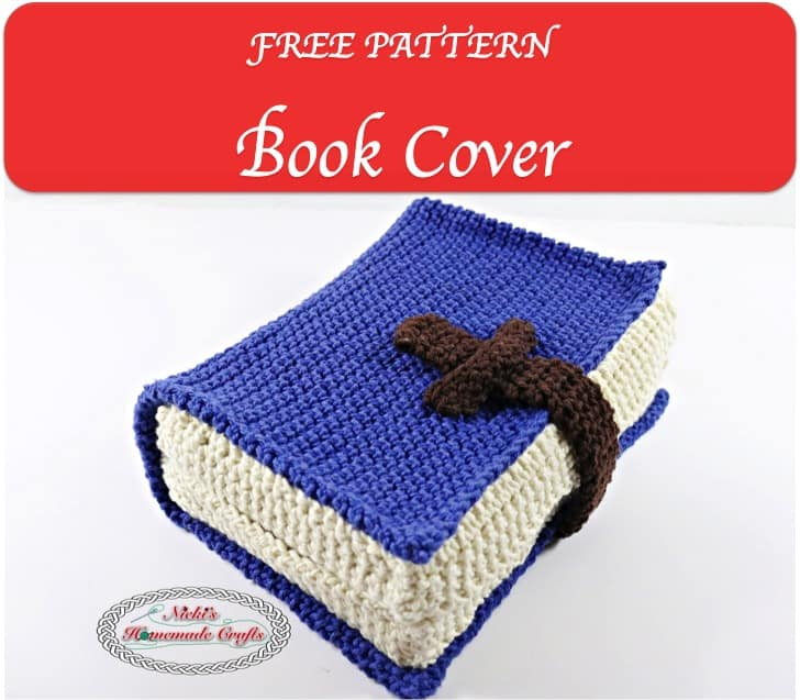 Book Cover Patterns Photo Free ~ Book cover free crochet pattern nicki s homemade crafts