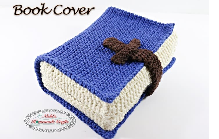 Book Cover Patterns Photo Free : Book cover free crochet pattern nicki s homemade crafts