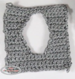 Elephant Tissue Box Cover - Free Crochet Pattern
