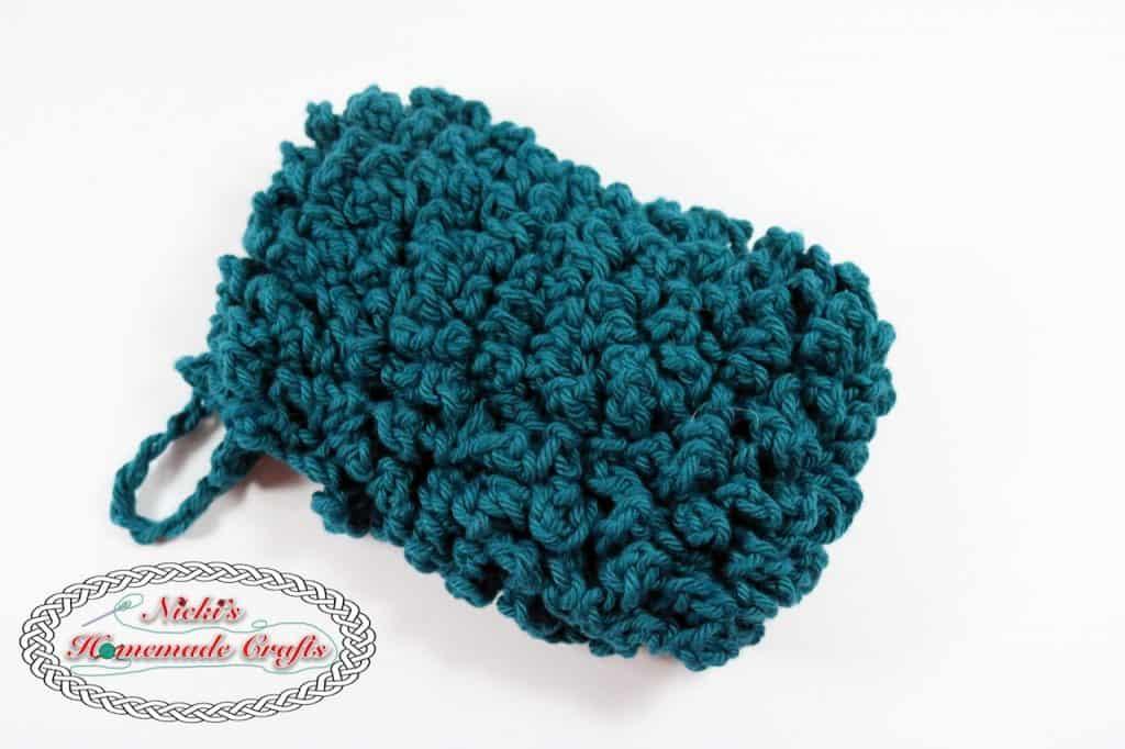 Facial Scrub and Cotton Pads - Free Crochet Pattern