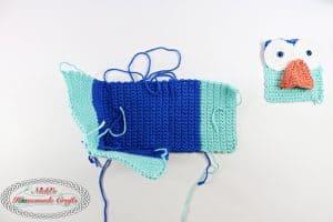 Owl Tissue Box Cover - Free Crochet Pattern