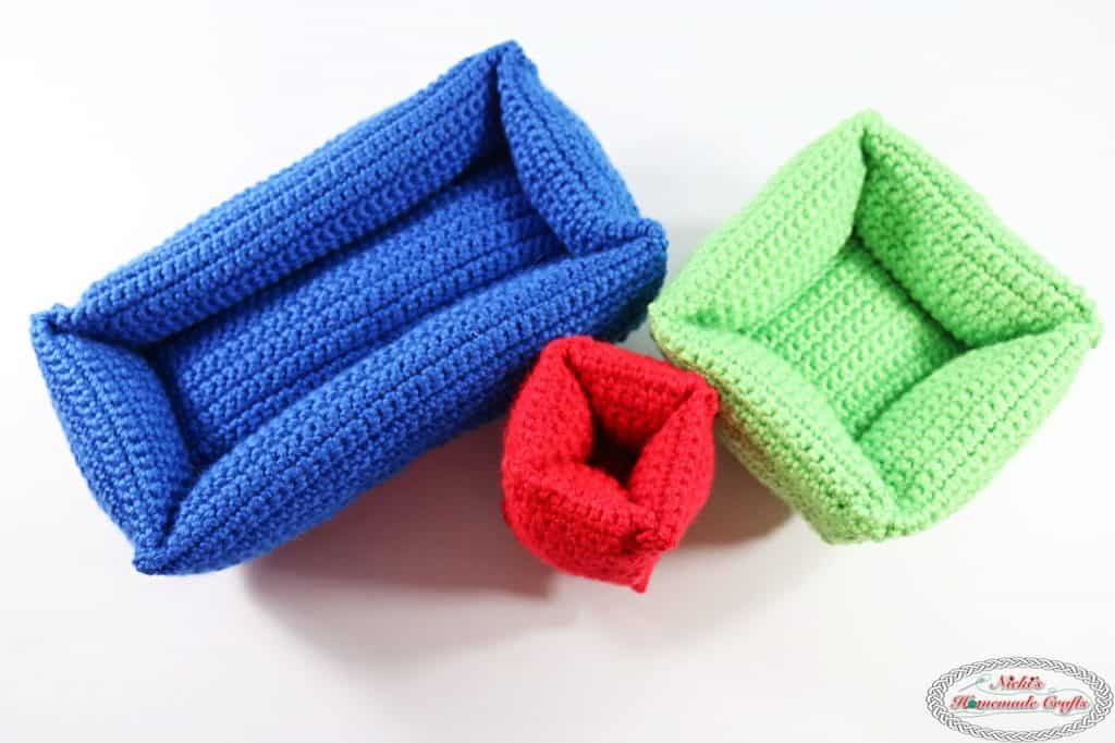 Soft and Stackable Bricks - Free Crochet Pattern