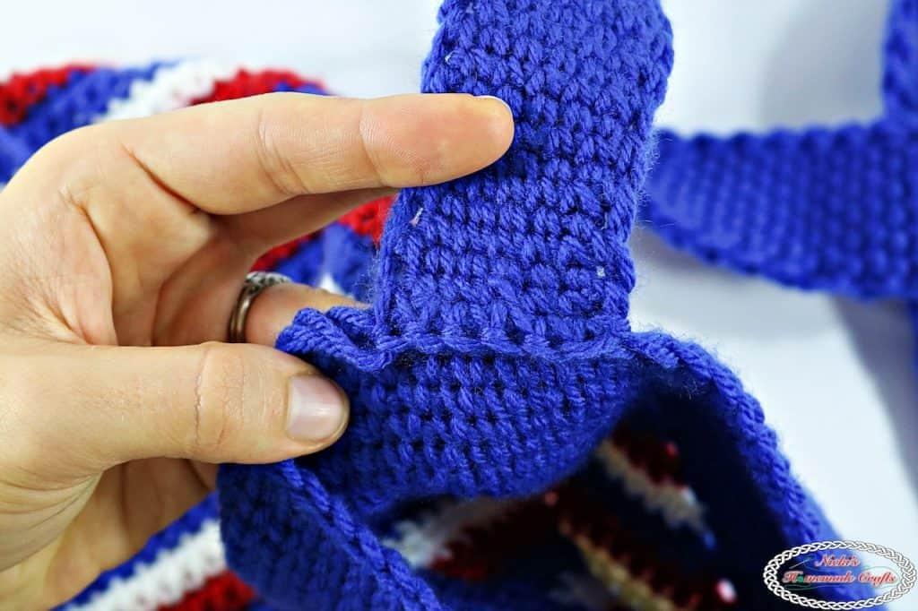 Stars and Stripes Bag - Free Crochet Pattern