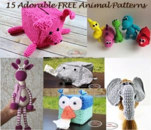 15 Most Popular and Adorable Free Animal Crochet Patterns