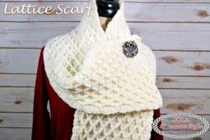 Lattice Scarf – Free Crochet Pattern