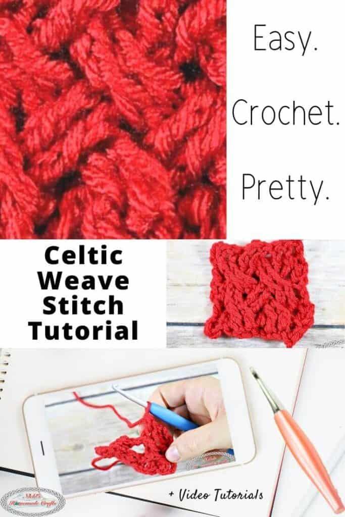 Celtic Weave Crochet Stitch Tutorial
