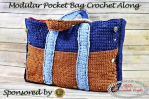 Modular Pocket Bag Crochet Along (CAL) – Part 4
