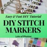 DIY Stitch Markers for Crochet and Knitting