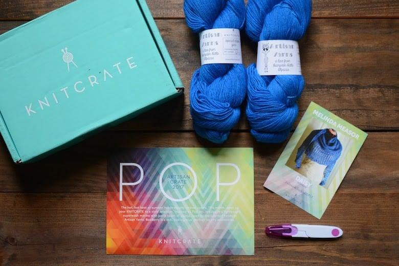 KnitCrate Yarn Box Subscription