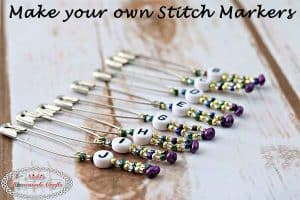 DIY – How to make your own Stitch Markers for Crochet and Knitting