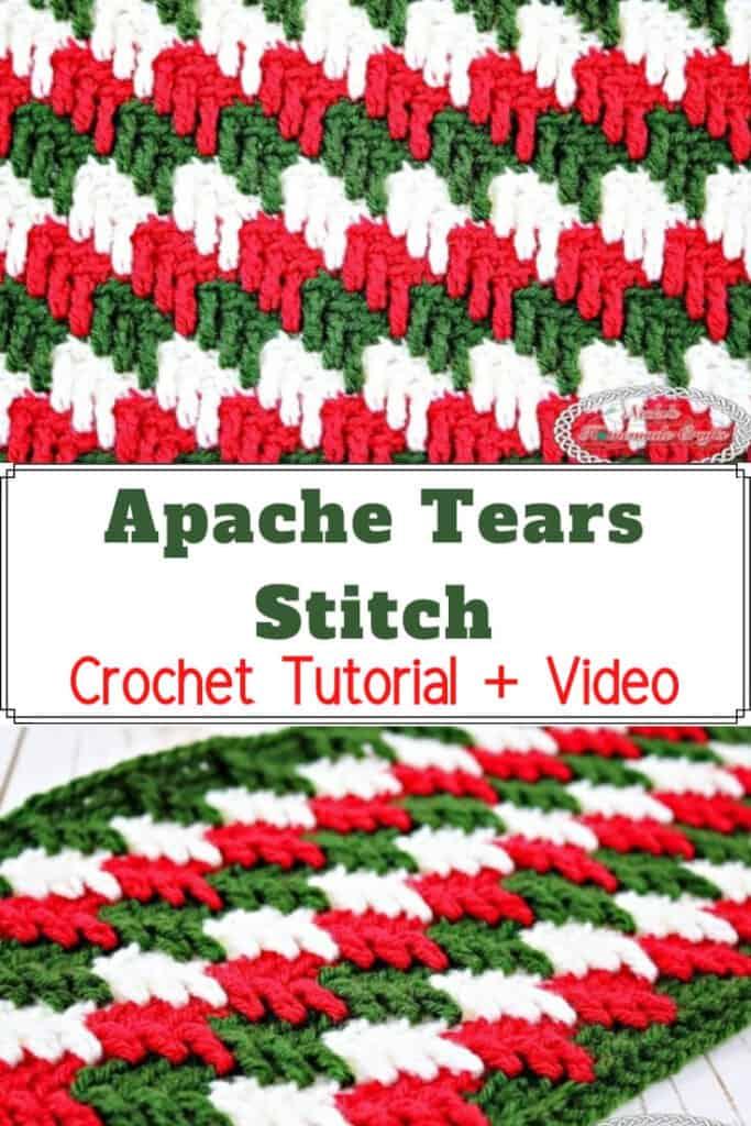 Apache Tears - Crochet Stitch Tutorial Pinterest