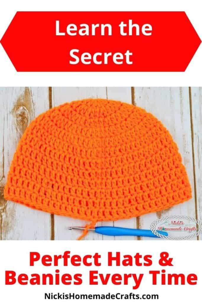 Perfect Crochet Hat Tutorial