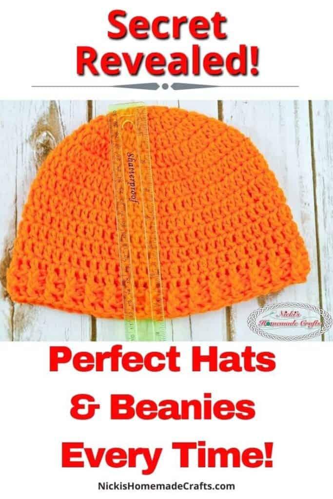 Perfect Hat Crochet tutorial Pattern