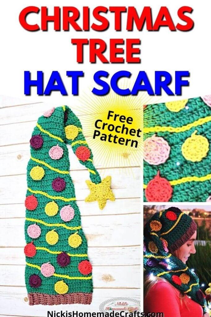 Crochet Christmas Tree Hat Free Pattern