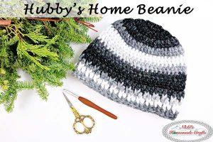 Hubby's Home Beanie – Free Crochet Pattern