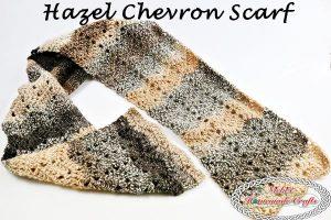 Hazel Chevron Scarf – Free Crochet Pattern