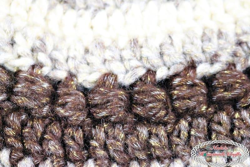 Everyday Bean Beanie - Free Crochet Pattern by Nicki's Homemade Crafts #crochet #pattern #everyday #freecrochetpattern #beanie #hat #easy