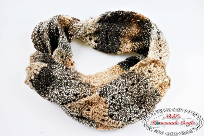 Hazel Crochet Scarf Tutorial