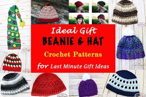 Ideal Gift Beanie or Hat Crochet Patterns for Last Minute Gift Ideas