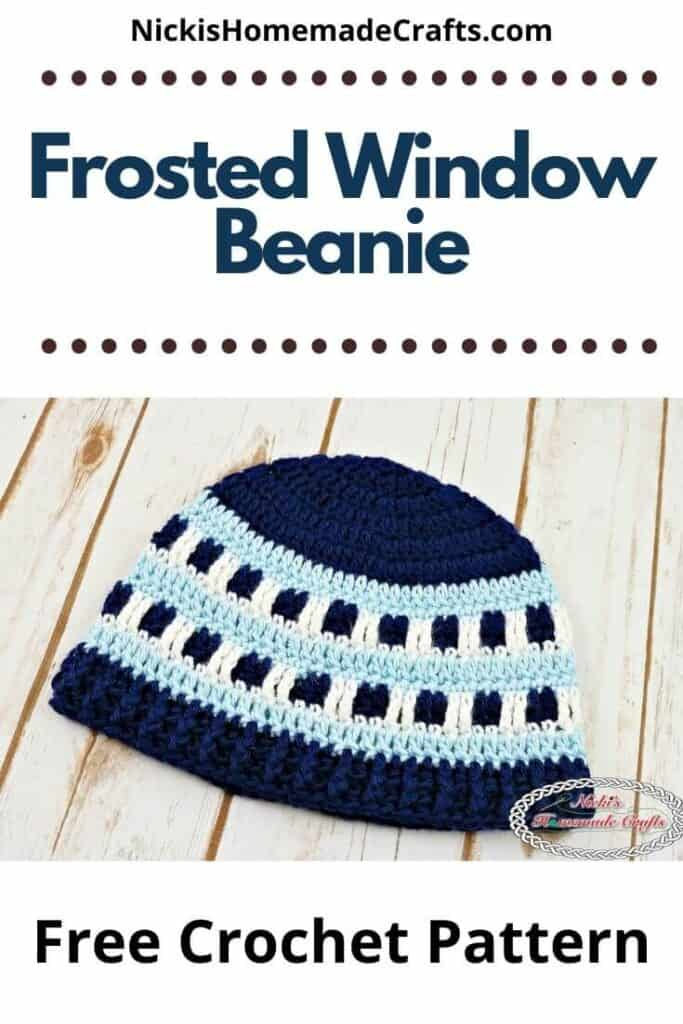 Frosted Window Beanie Pattern