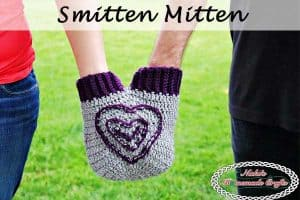 Crochet a Smitten Mitten for Holding Hands – Free Pattern