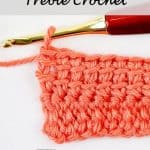 Linked Treble Crochet - Crochet Tutorial - Photo and Video - Nicki's Homemade Crafts