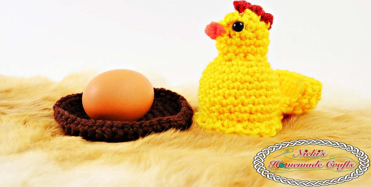 Egg Popping Chicken Free Crochet Pattern Nickis Homemade Crafts