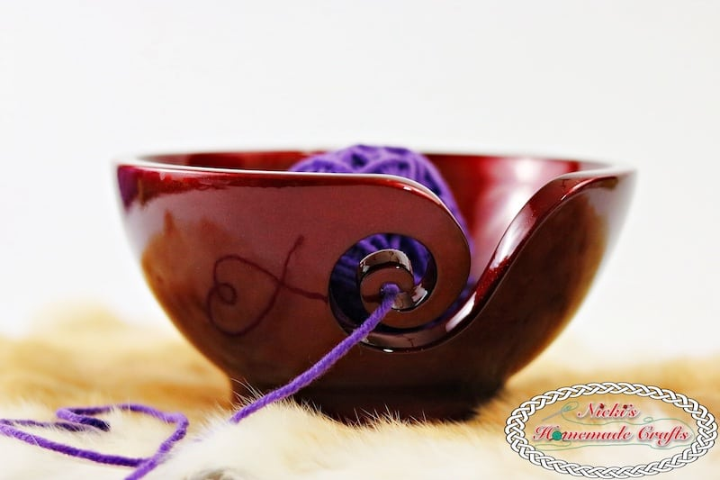 Product Review for Furls Crochet Hooks and Tools by Nicki's Homemade Crafts Showing of Odyssey Yarn bowl