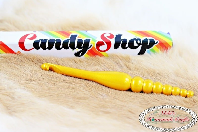 Product Review for Furls Crochet Hooks and Tools by Nicki's Homemade Crafts Showing of the Candy Shop Hook