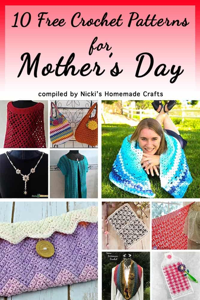 !0 Free Mother's Day Crochet Patterns for Mom