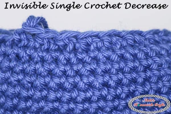 Learn the secret to crocheting the INVISIBLE Single Crochet Decrease! You will never see gaps again for amigurumi, stuffed animals, stuffed dolls, balls, hats, beanies